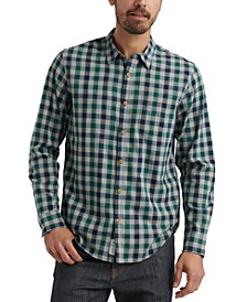 Men's Palisades Slim-Fit Check Shirt