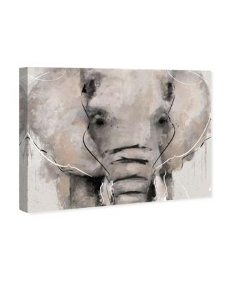 Abstract Elephant Canvas Art, 24