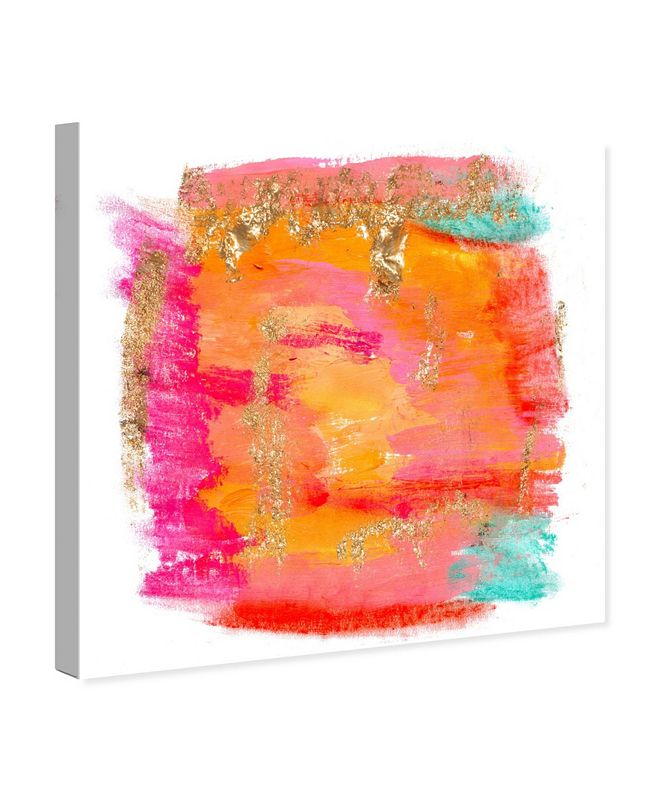 """Oliver Gal New Yorker in Spring Canvas Art, 16"""" x 16"""""""