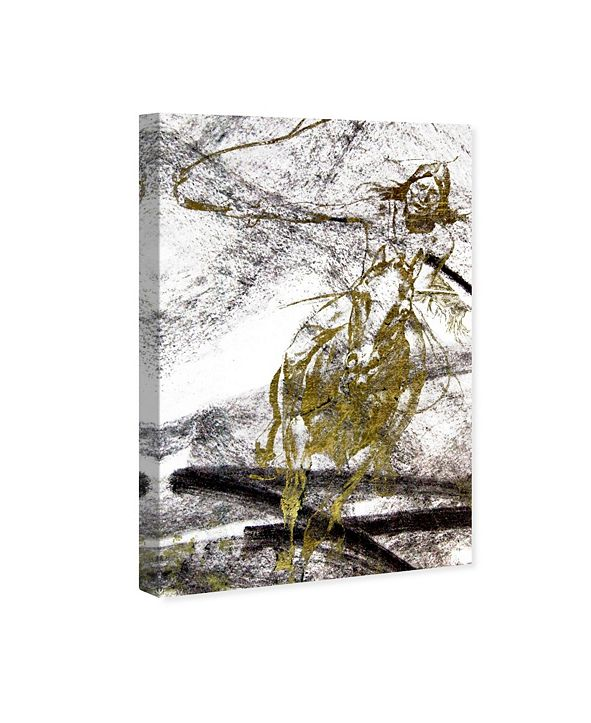 """Oliver Gal Wild Chase Canvas Art, 16"""" x 24"""""""