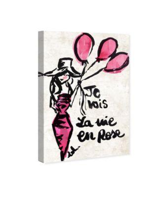 La Vie En Rose Canvas Art, 24