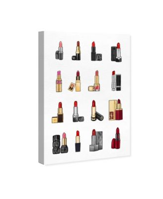 "Lipsticks Canvas Art, 10"" x 15"""