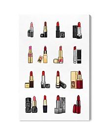 Lipsticks Canvas Art Collection