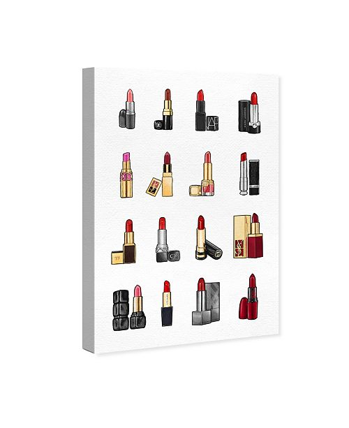 Oliver Gal Lipsticks Canvas Art Collection