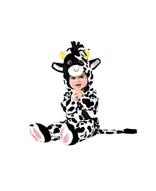 Baby Boys and Girls Mini Moo Costume