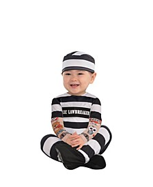 Infant Boys and Girls Lil Law Breaker Costume