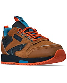 Men's Classic Leather Ripple Trail Sneakers from Finish Line