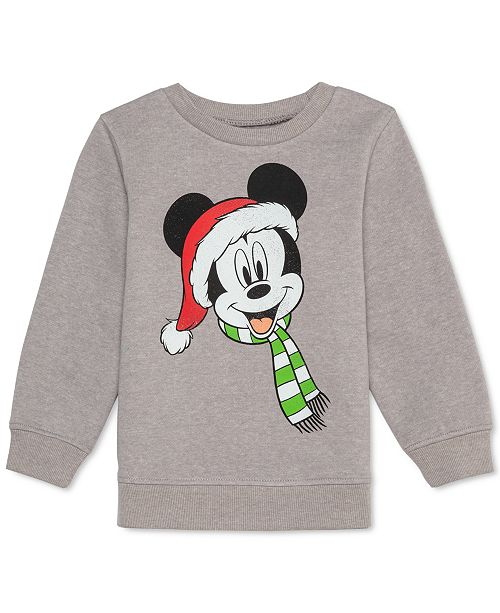 Disney Toddler Boys Mickey Mouse Holiday Sweatshirt