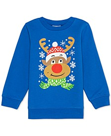 Toddler Boys Rudolph The Red-Nosed Reindeer Holiday Sweatshirt