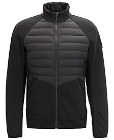 BOSS Men's Jalmstad Pro 3 Slim-Fit Golf Jacket