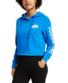 Junior's Cotton Cropped Hoodie