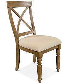 Aberdeen X-Back Upholstered Side Chair