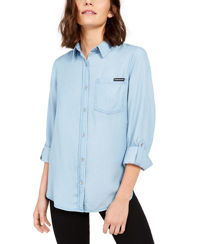 Calvin Klein Jeans - Tencel Button-Down Shirt