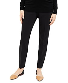 Maternity Straight-Leg Dress Pants