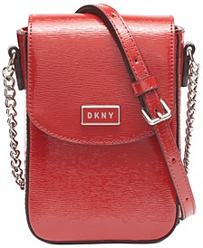 North South Leather Crossbody, Created for Macy's