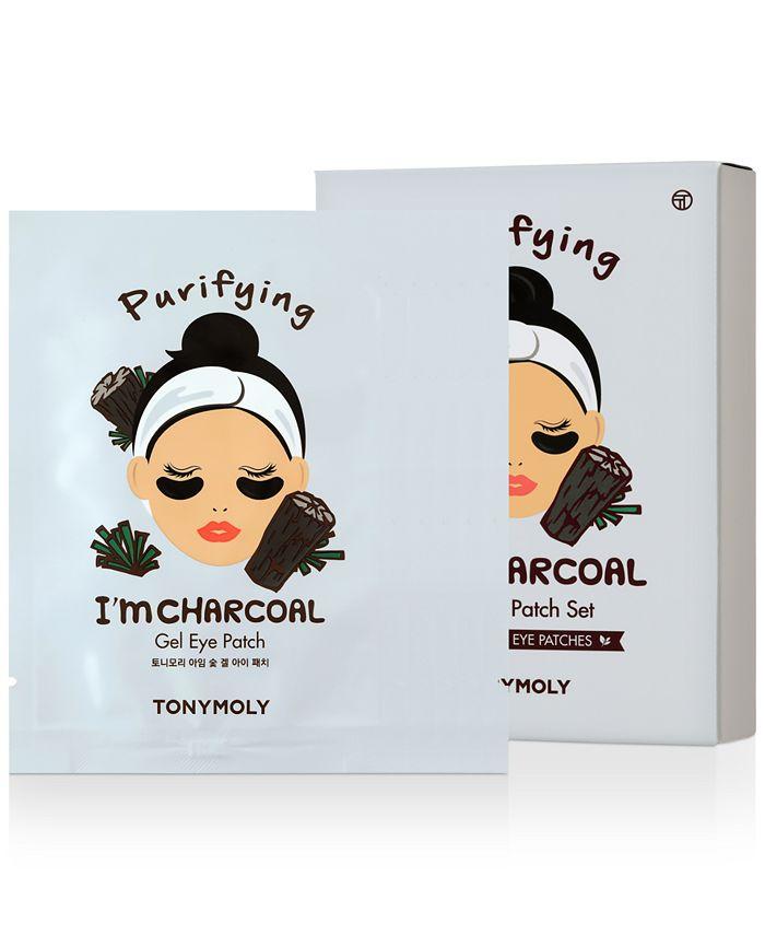 TONYMOLY - I'm Charcoal Gel Eye Patch, 5-Pk.