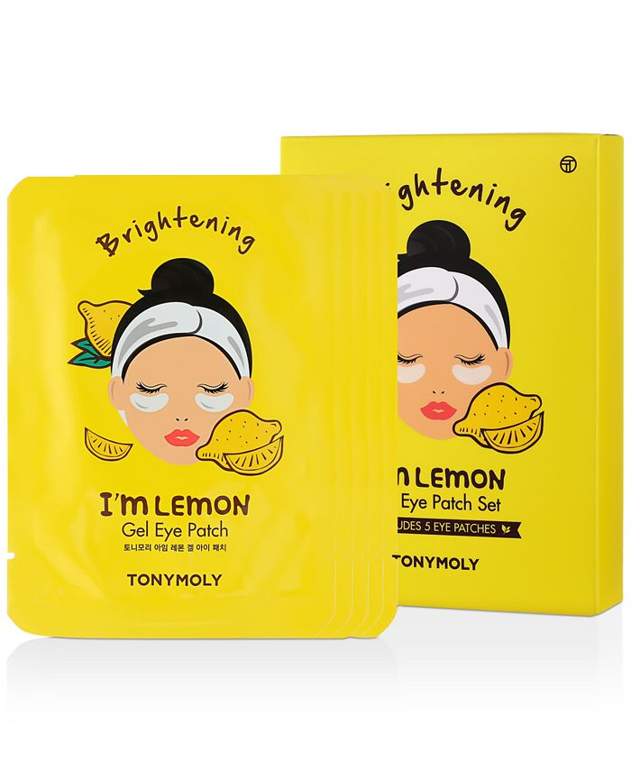 TONYMOLY - I'm Lemon Gel Eye Patch, 5-Pk.