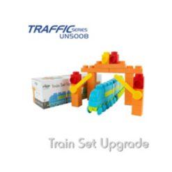 UNiPLAY 72 Piece Set To Build Jumbo Train
