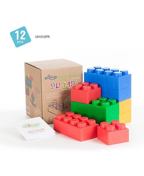 UNiPLAY Tensquare  4 Large and 8 Small Plump Series 12 Piece Set