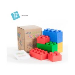 UNiPLAY 4 Large and 8 Small Plump Series 12 Piece Set