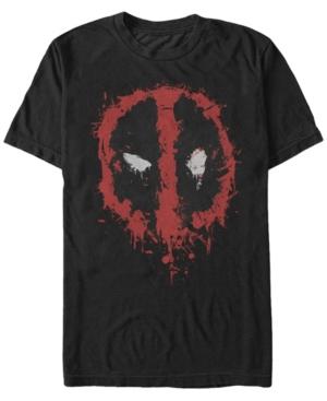 Marvel Men's Deadpool Splatter Icon