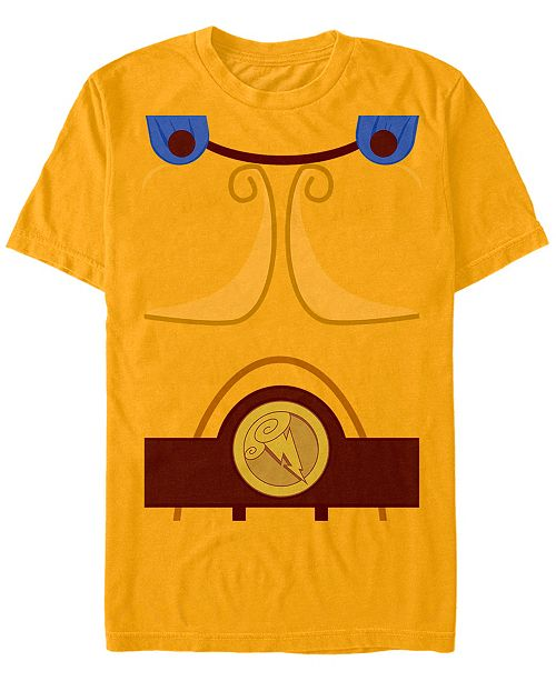 Fifth Sun Disney Men's Hercules Chest Costume Short Sleeve T-Shirt Short Sleeve T-Shirt