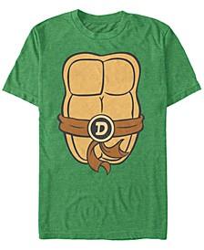 Nickelodeon Teenage Mutant Ninja Turtles Donatello Chest Costume Short Sleeve T-Shirt