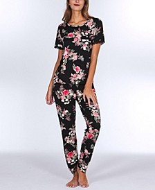 Lauren Printed Knit Pajama