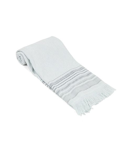 Olive and Linen Air Loom Turkish Terry Hand Towel
