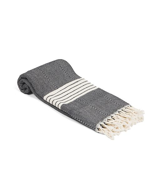Olive and Linen Newport Turkish Towel / Throw