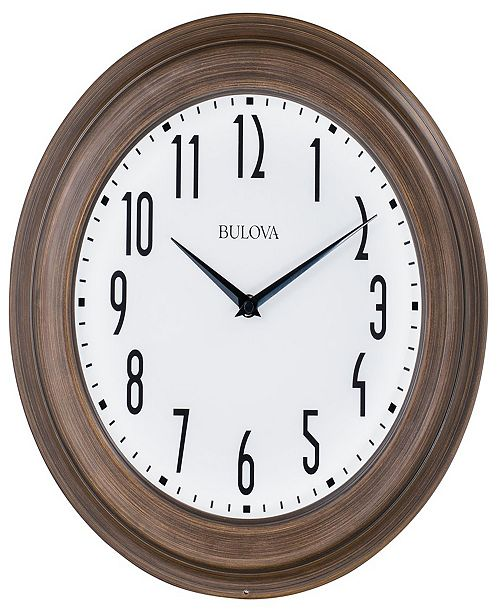 Bulova Beacon Wall Clock