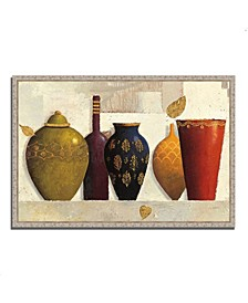 "Jeweled Vessels by James Wiens Fine Art Giclee Print on Gallery Wrap Canvas, 47"" x 32"""