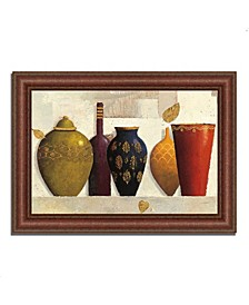 "Jeweled Vessels by James Wiens Framed Painting Print, 43"" x 31"""