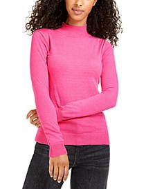 Juniors' Mock-Neck Sweater