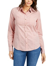 Solid Corduroy Shirt, Created For Macy's