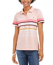Striped Polo Top, Created for Macy's