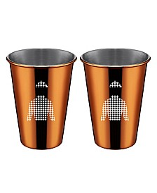 Copper Jockey Shirt Cups - Set of 2