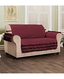 Claremont Ruffled Loveset Furniture Cover