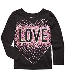 Little Girls Confetti Love T-Shirt, Created For Macy's