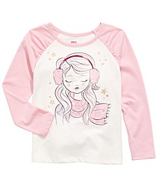 Little Girls Winter Weather Girl T-Shirt, Created For Macy's