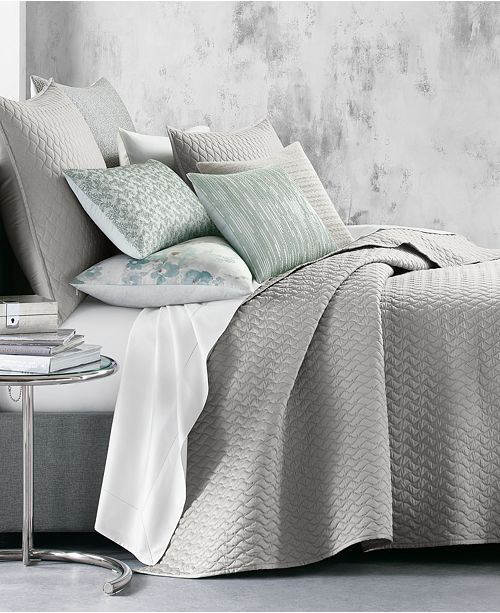 Hotel Collection Meadow Full/Queen Coverlet, Created for Macy's