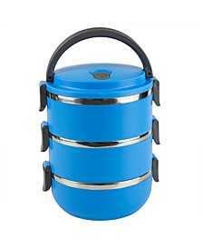 HDS Trading 3 Tier Leak-Proof Lunch Box