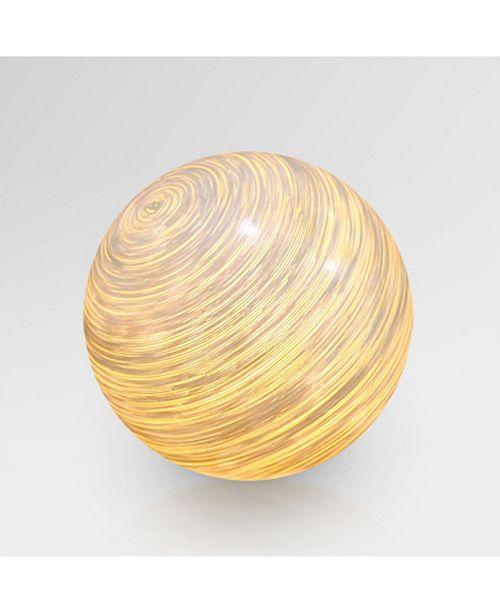 My Zen Home Igor Rattan Ball Floor Lamp - Large