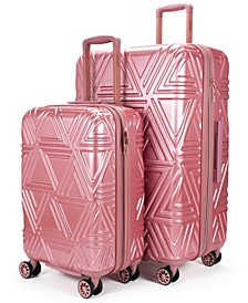 """Contour 2 Piece Expandable Hard Spinner Luggage Set - 31""""/23"""""""