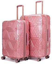 "Contour 2-Pc. Expandable Hard Spinner Luggage Set - 31""/26"""