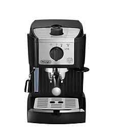 DeLonghi EC155M 15 Bar Espresso and Cappuccino Machine