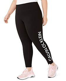 Plus Size Logo High-Waist Leggings