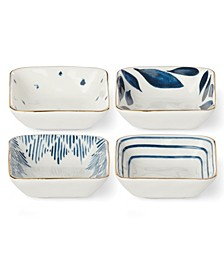 Blue Bay  Set/4  Square Stacking Dip Bowls