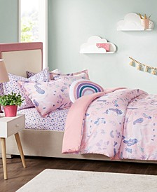 Avery 5-Pc. Twin Comforter Set