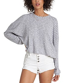 Easy Way Relaxed Ribbed Top